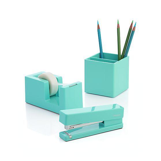 Poppin ® Aqua Stapler | Crate And Barrel