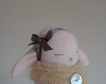 A Pale Pink Bunny
