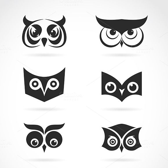 Vector Image Of An Owl Face Design Owl Face Paint Owls Drawing Traditional Owl Tattoos