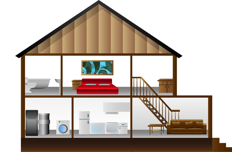 Https Risaliu Files Wordpress Com 2013 05 House Cross Section Jpg House Loft Bed Home