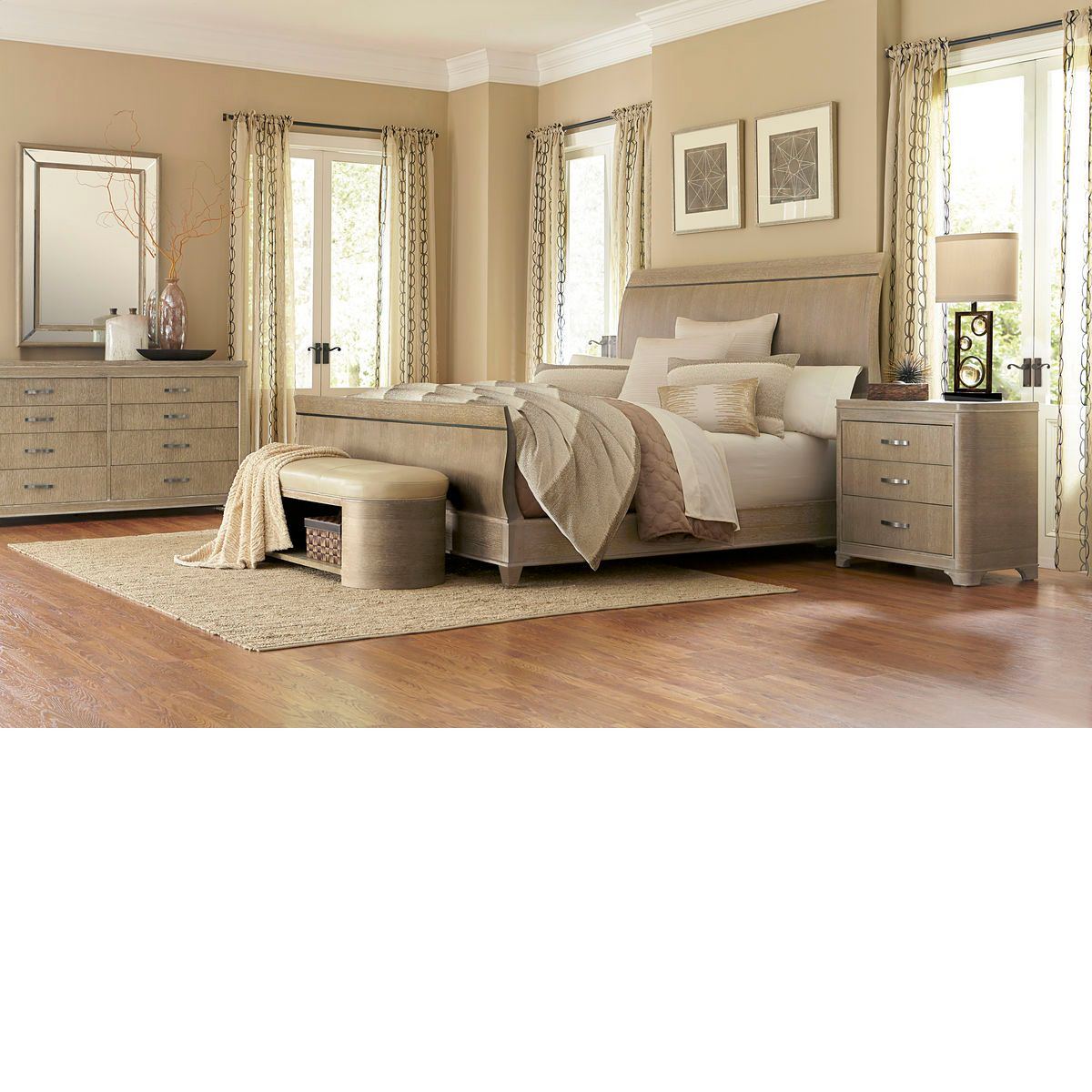 Bedroom Sets The Dump the dump furniture - greenpoint sandstone sleigh | bedroom