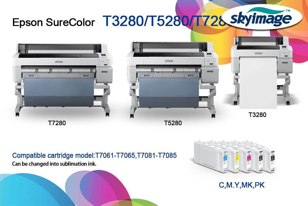 How To Convert Epson T7270 Printer Into Sublimation Printer