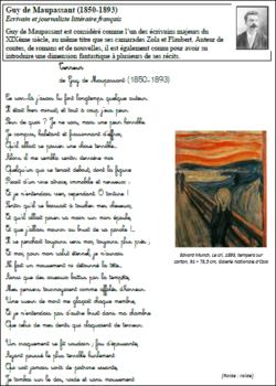 Recitation Fables Et Poesies Pour Le Cm2 Poesie Cm2 Cm2 Poesie Cycle 3
