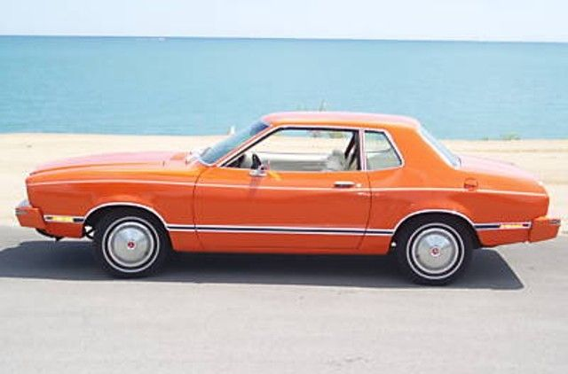 Tangerine Orange 1978 Ford Mustang II Coupe