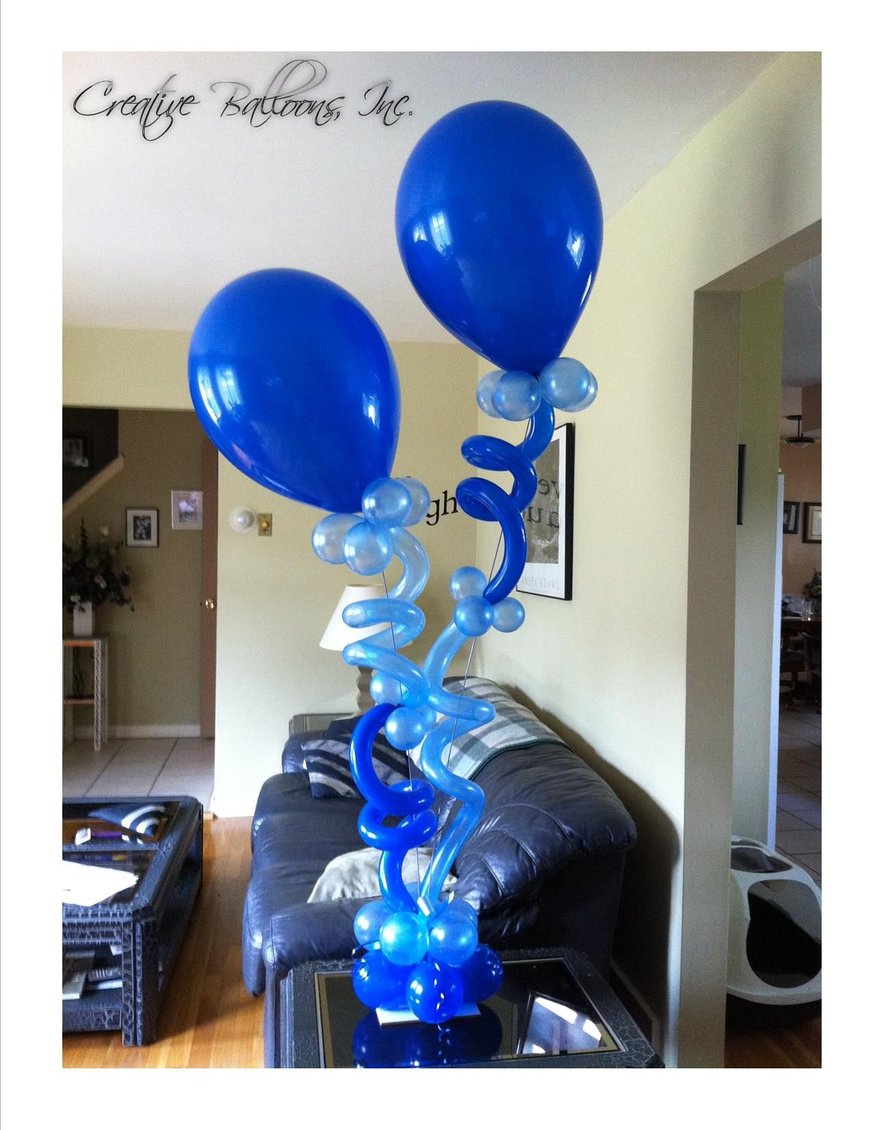 Air filled design (With images) Balloon centerpieces
