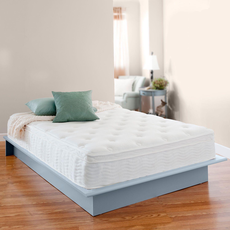 night therapy icoil 12 inch euro box top spring twin mattress