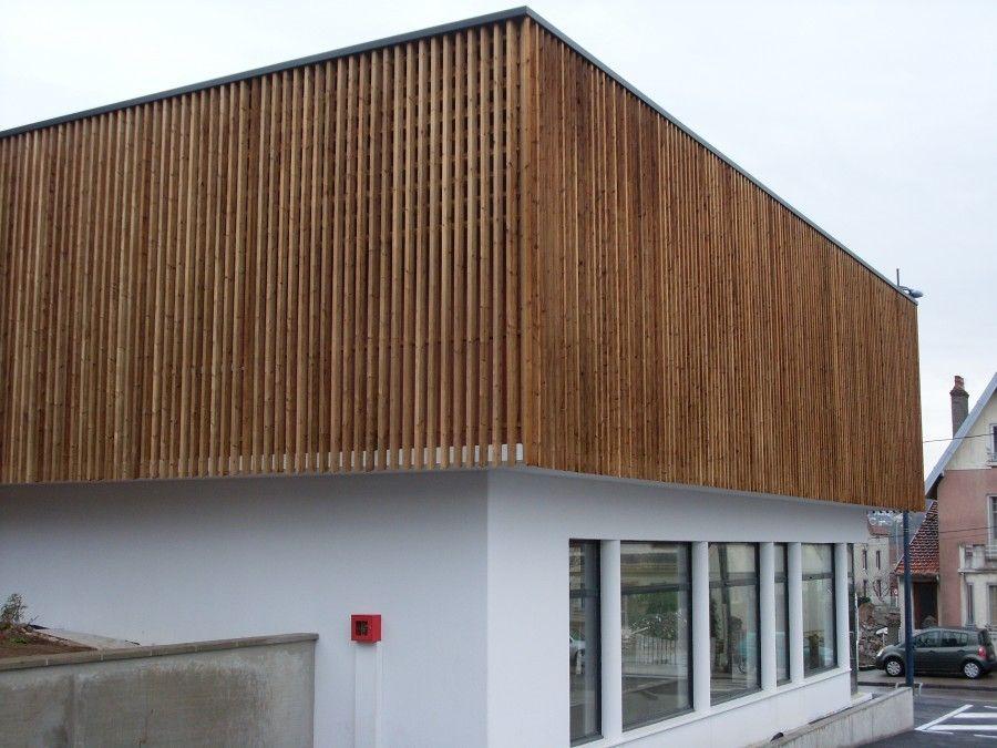 Afficher l'image d'origine facade bardage bois Pinterest Bardage bois, Bardage et Façades # Bardage Bois Thermo Chauffé