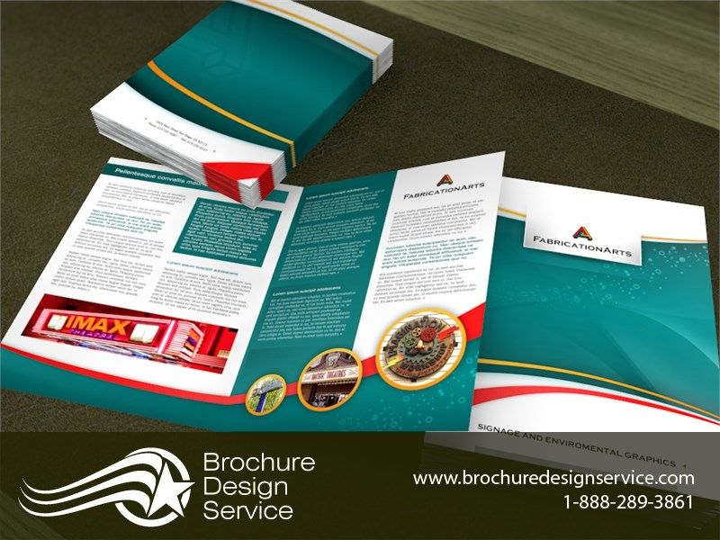 Signage Company Brochure Design Samples Designers Templates