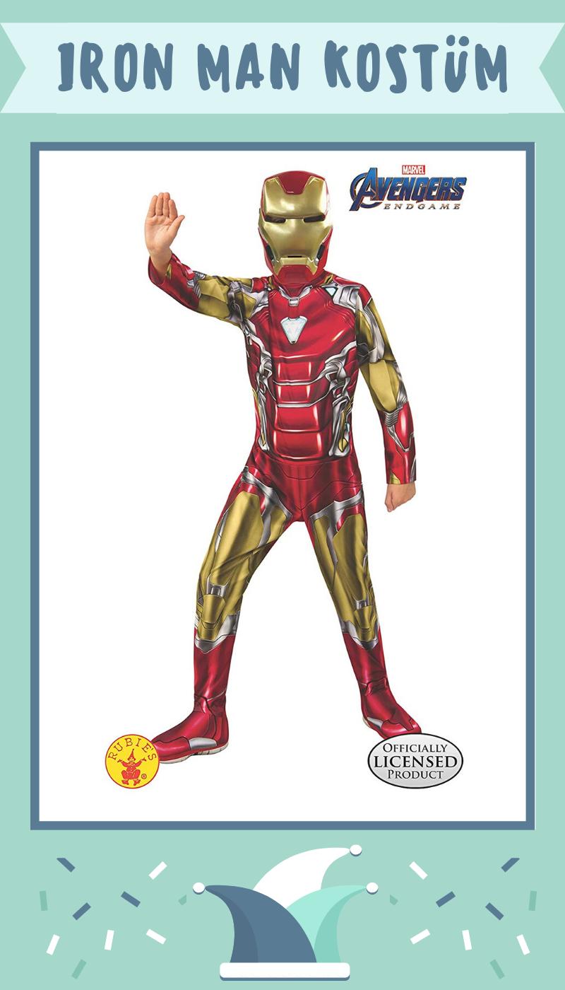 Avengers Kostum Iron Man Kostum Fur Kinder In 2020 Iron Man Kostume Kinder Kostum Avengers