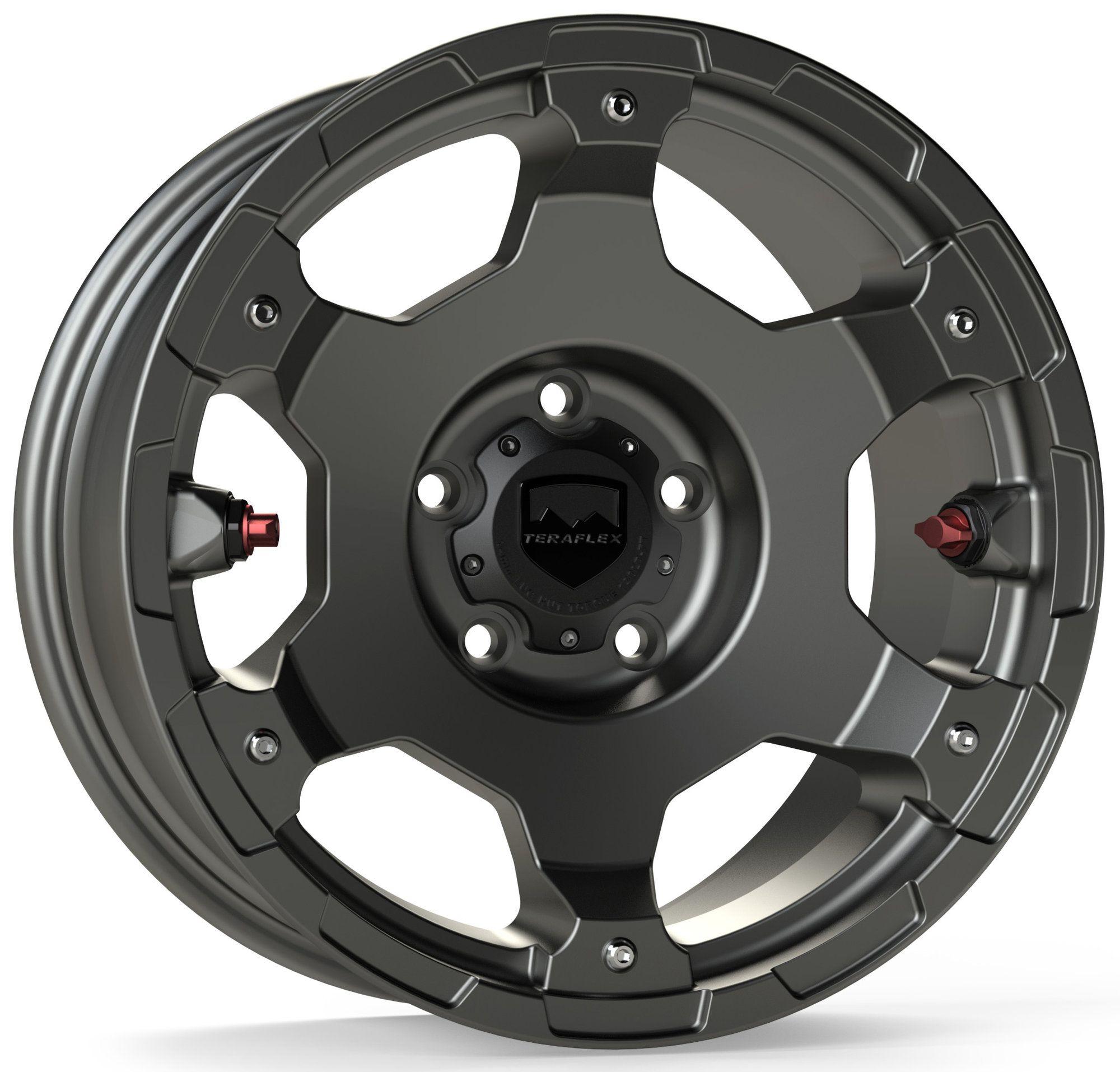 Teraflex Base Nomad Wheel in Titanium Gray for 0720 Jeep