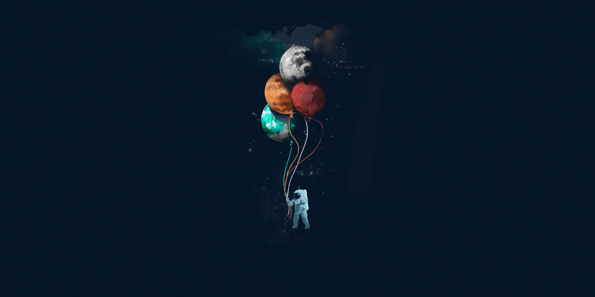 Minimalism Artwork Space Space Art Astronaut Simple Background 1080p Wallpaper Hdwallpaper Desktop In 2020 Space Art Minimalist Wallpaper Simple Backgrounds