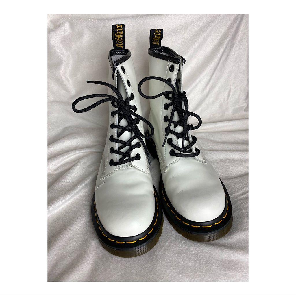 Dr. Martens Shoes | White Dr Marten