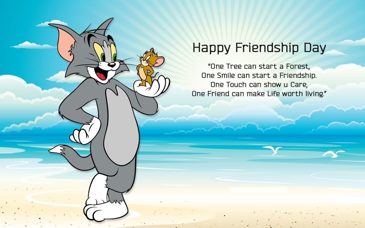 Happy Friendship Day Status Funny Tom And Jerry Happy Friendship Day Picture Happy Friendship Day Happy Friendship Day Status