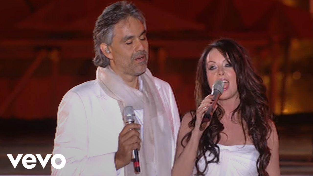 Andrea Bocelli Sarah Brightman Canto Della Terra Hd My