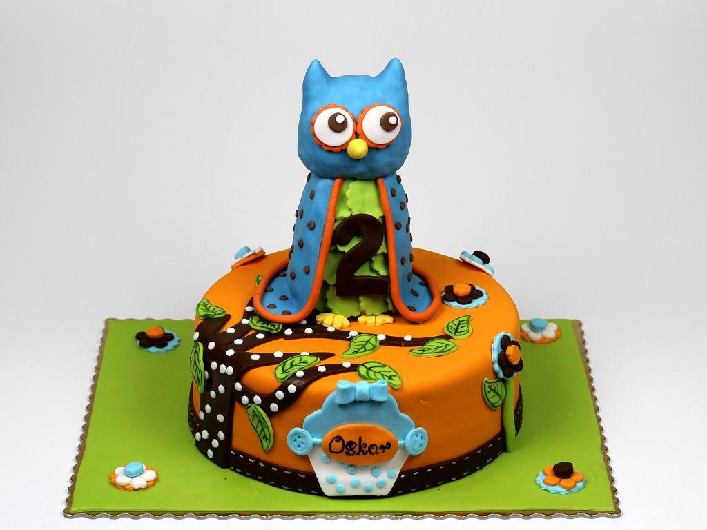 Owl Birthday Cake Novelty Cakes in London httpwwwpinkcakeland