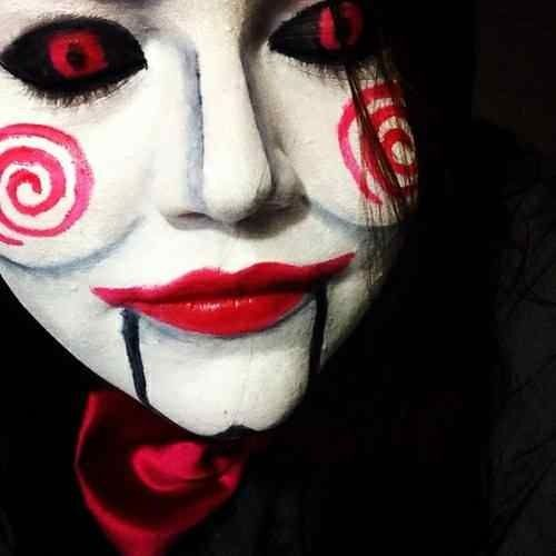 jig saw costume Halloween Pinterest Costumes and Halloween makeup - scary halloween costume ideas 2016