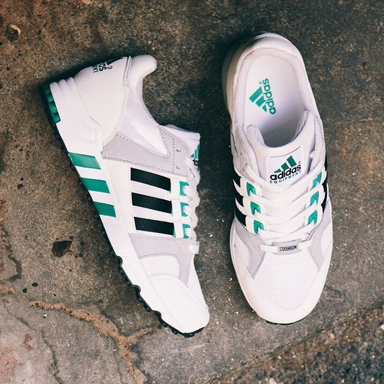 adidas Equipment Running Cushion 93' 'Vintage Whites'