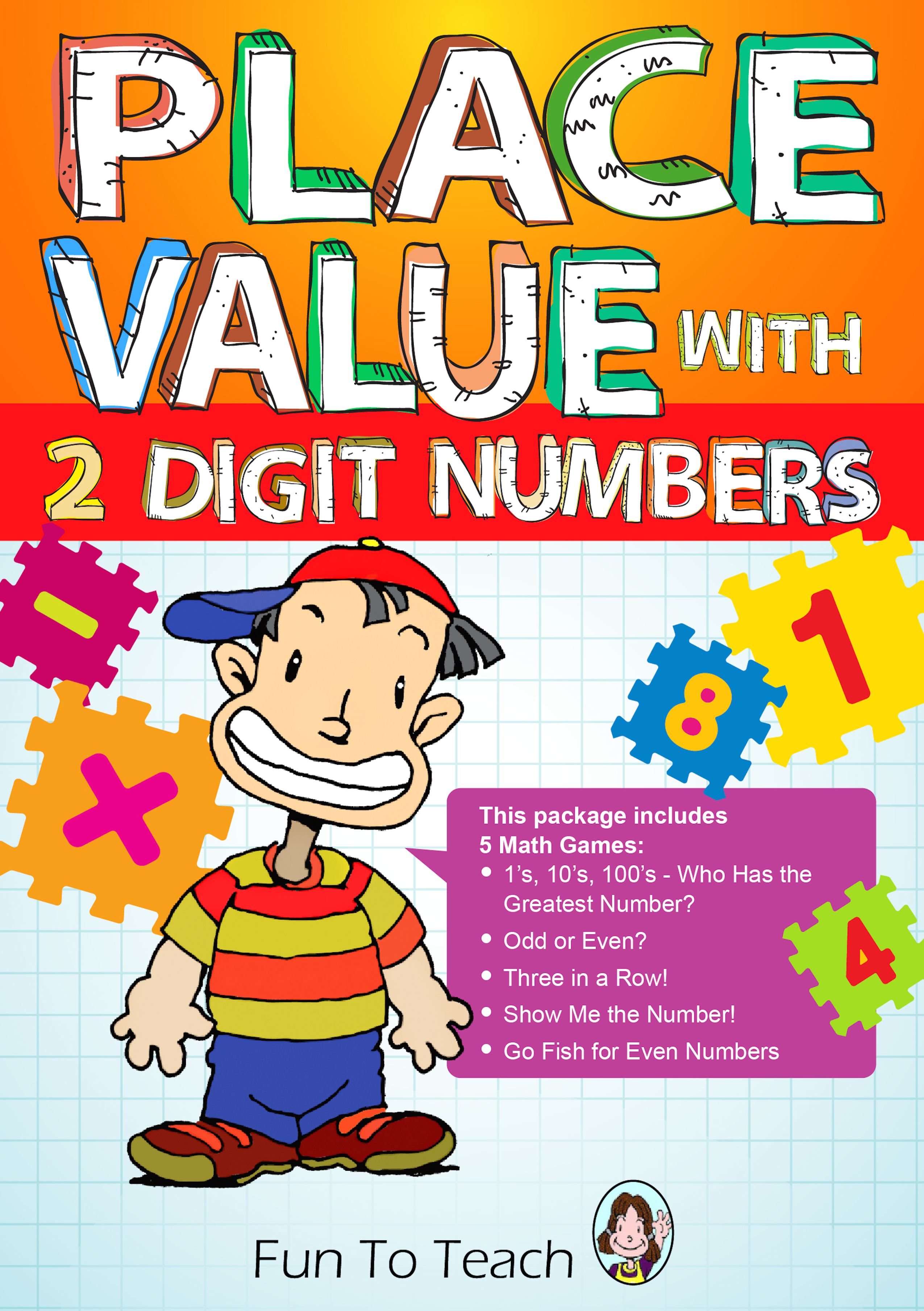 Place Value With 2 Digit Numbers