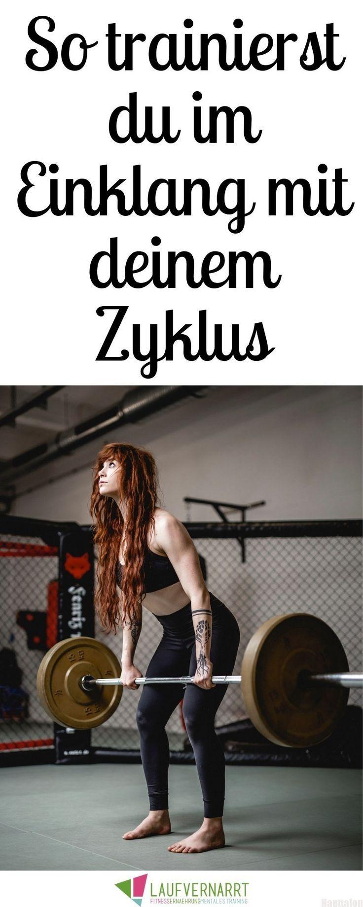 Frauen & Fitness: Training im Einklang mit dem weiblichen Zyklus. Weißt du, welche Auswir... - #Ausw...