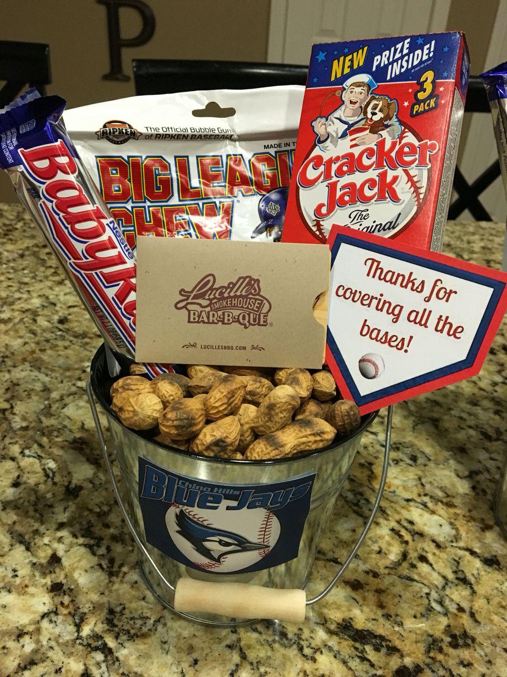 Baseball end of season coach gift baseball coach gifts