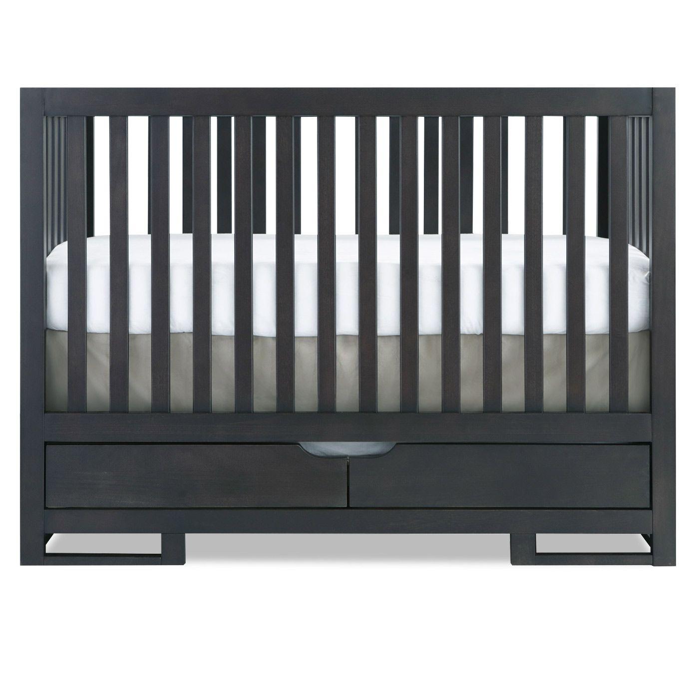 Best Karla Dubois Oslo Convertible Crib In Slate Convertible 400 x 300