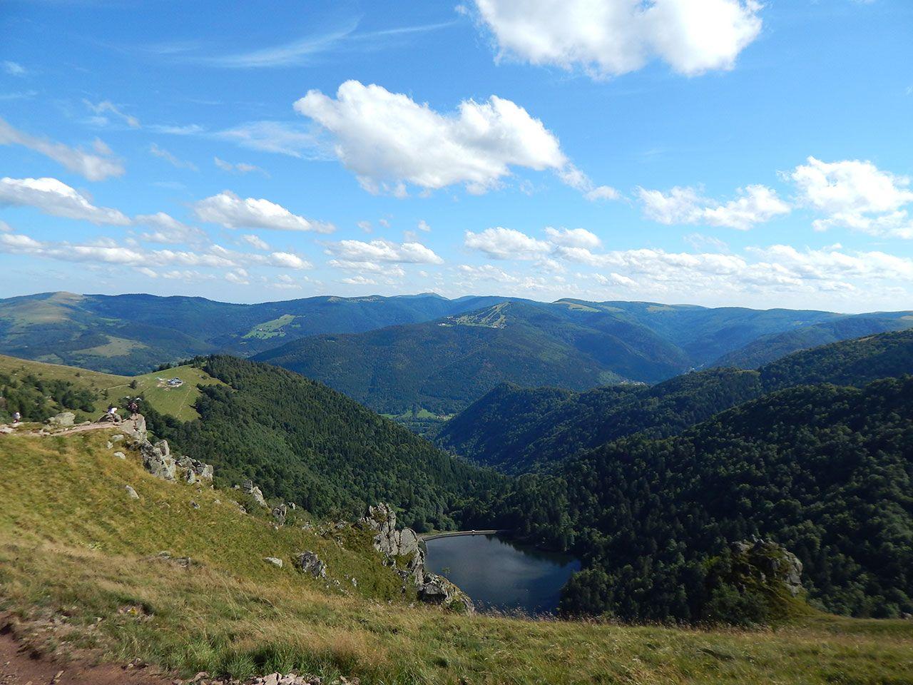 Felsenpfad Col De La Schlucht Frankenthal Le Hohneck Vogesen Felsenweg Und Reisen