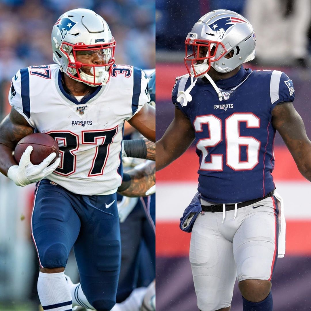 Which Young Patriots Running Back Do You Believe Has The More Promising Long Term Outlook Sony Michel Or Damien Har In 2020 Football Players Football Helmets Patriots