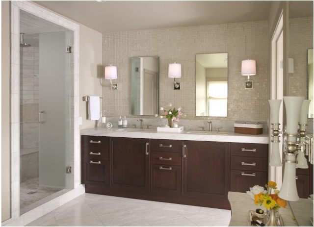 bathroom design ideas transitional