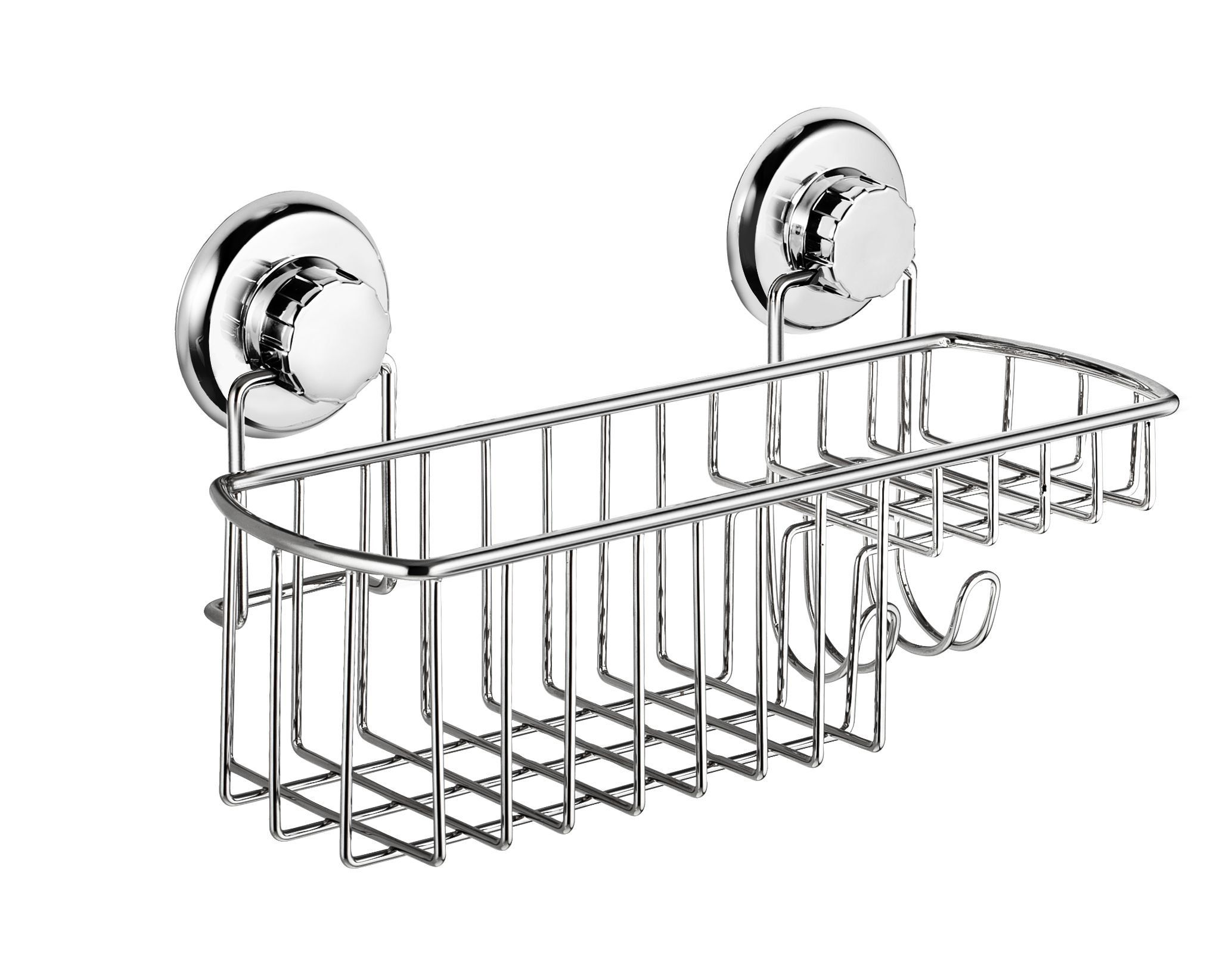 Hasko Accessories Powerful Vacuum Suction Cup Shower Caddy