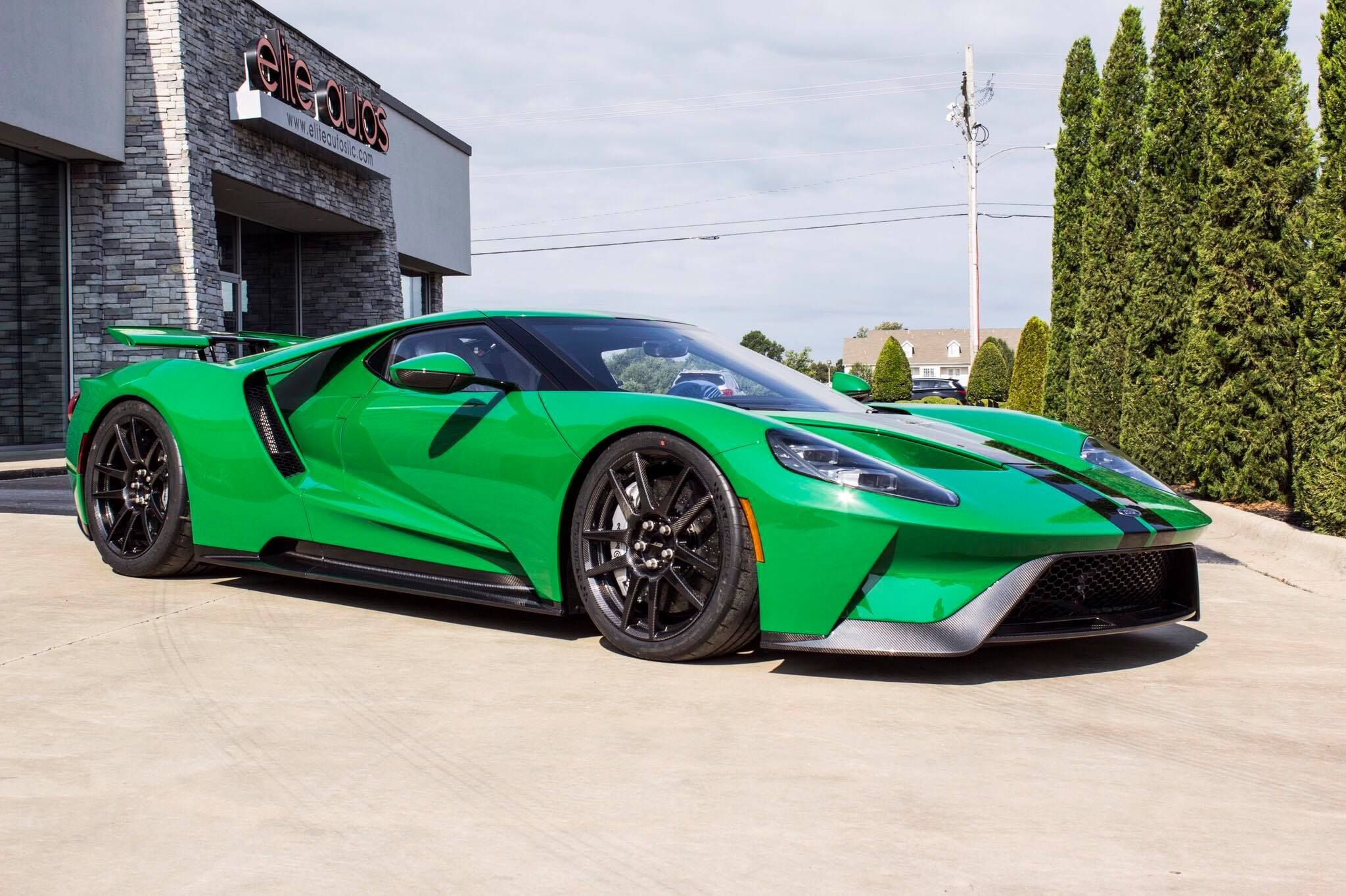 Ford Gt Atlas Green Ford Gt Ford Gt 2017 Ford