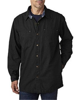 Backpacker BP7006 - Men's Canvas Shirt Jacket with Flannel Lining