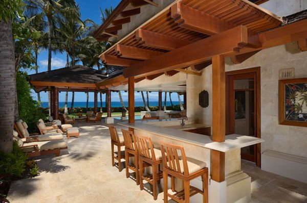 inexpensive outdoor kitchen ideas   Outdoor Kitchen Landscape Ideas  Give Tropical Style for Your Kitchen kitchen Inexpensive
