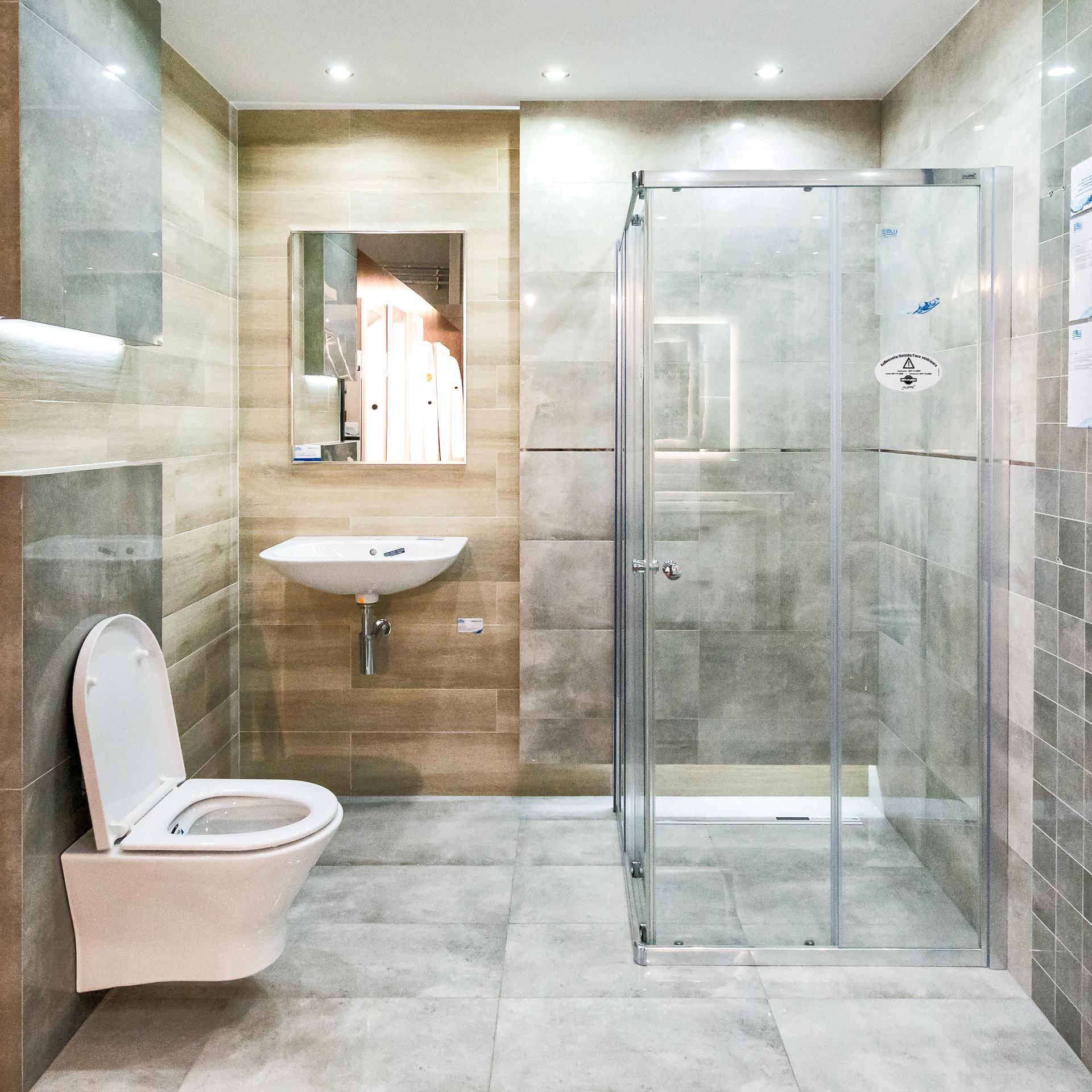 Naturalnie Piękna łazienka Drewno I Szarości Inspiracje W