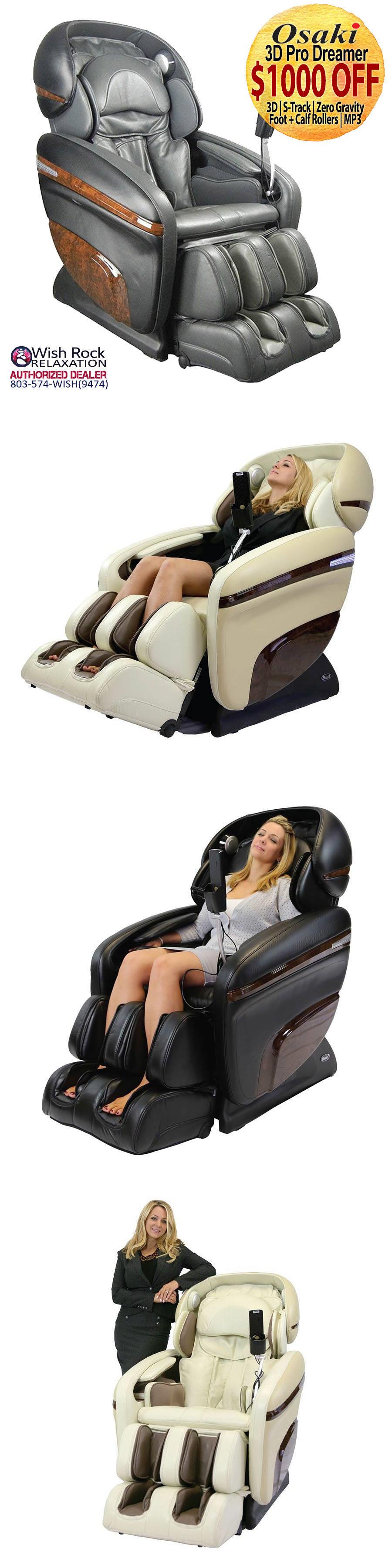 Electric Massage Chairs Osaki 3D Pro Dreamer Mp3 Zero Gravity