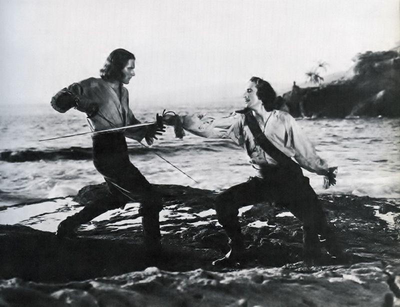 Image result for captain blood sword fight