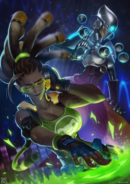 Female Overwatch Characters x Male Reader - Introductions