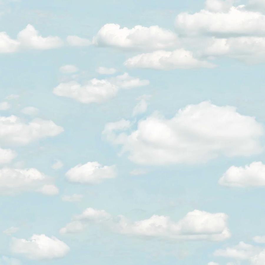 Bath Blue Clouds Wallpaper Brewster Bath Blue Clouds Wallpaper   2734-24890
