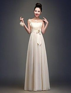 o linie de lungime podea bijuterie rochie sifon de domnisoar... – EUR € 49.99