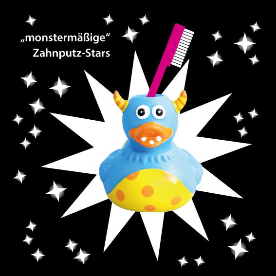 """my toothie duck """"Monster-Ente"""" #Geschenkidee #Bad #Badezimmer #bathroom"""