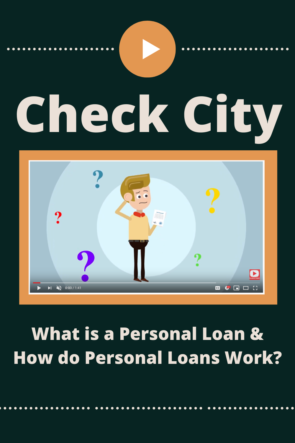 What Is A Personal Loan And How Do Personal Loans Work Personal Loans Payday Loans Payday