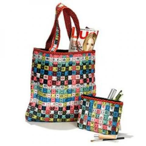 Recycled Tape Measure Tote Bag At Sustainable Nyc 7 St Marks Pl New York Ny 10003 7801