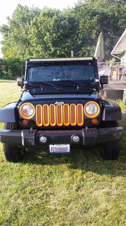 It Took Me Long Enough To Get Around To It But Finally Got My Light Bar On Thank You Jeep Wrangler Jku Offro Led Driving Lights Led Light Bars Jeep Life