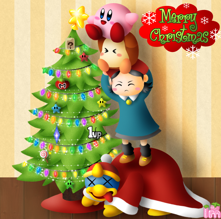 A Very Kirby Christmas by Annortha on DeviantArt   kirby   Pinterest ...