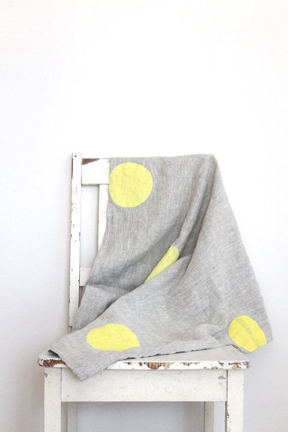 Linen Baby Blankets by Hello Milky.