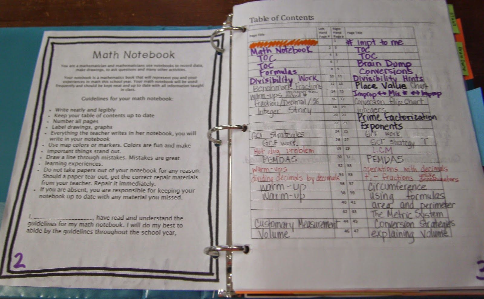 Hodges Herald: An Entire Interactive Notebook for 6th grade math ...