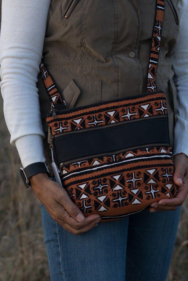 Mudcloth bag africanbag africanfashion Crossbody bag
