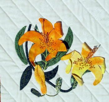 Tiger Lily Petal Play by Joan Shay Applique Quilt by ArwensChild ... : tiger lily quilt shop - Adamdwight.com