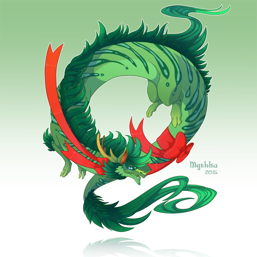 Dragon-A-Day (Dec 6) by Mythka on DeviantArt