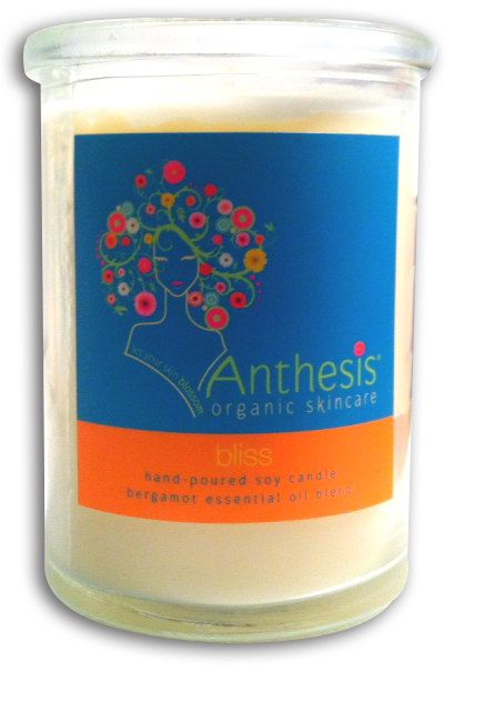 SoyBased Aromatherapy Candle  Bliss by anthesis on Etsy, $16.00 http://www.etsy.com/listing/98779457/soy-based-aromatherapy-candle-bliss