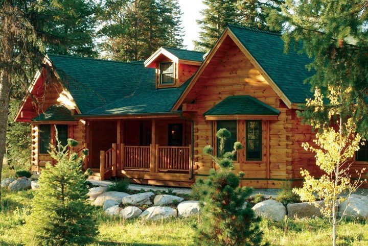 My Dream Cabin With Images Mountain Dream Homes Rustic House Log Home Living